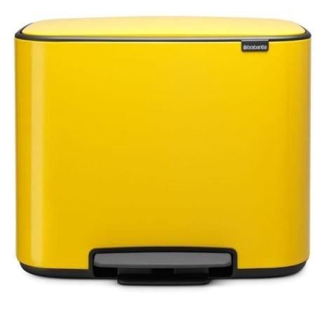 פח אשפה BO פדל 36 ליטר צהוב  BRABANTIA