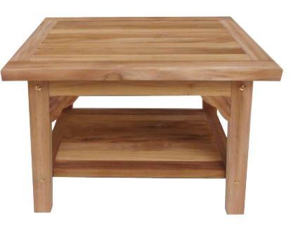 ספסל עץ למקלחת