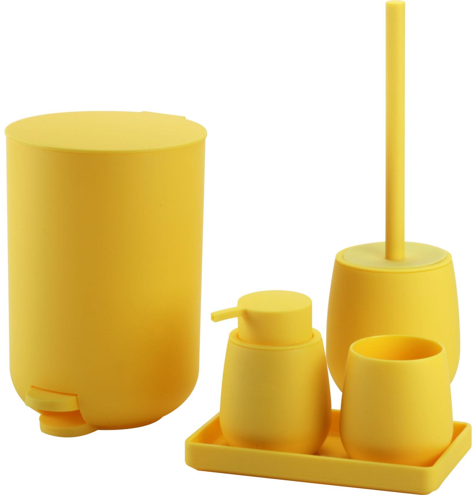 סט מונחים לאמבט דובאי צהוב